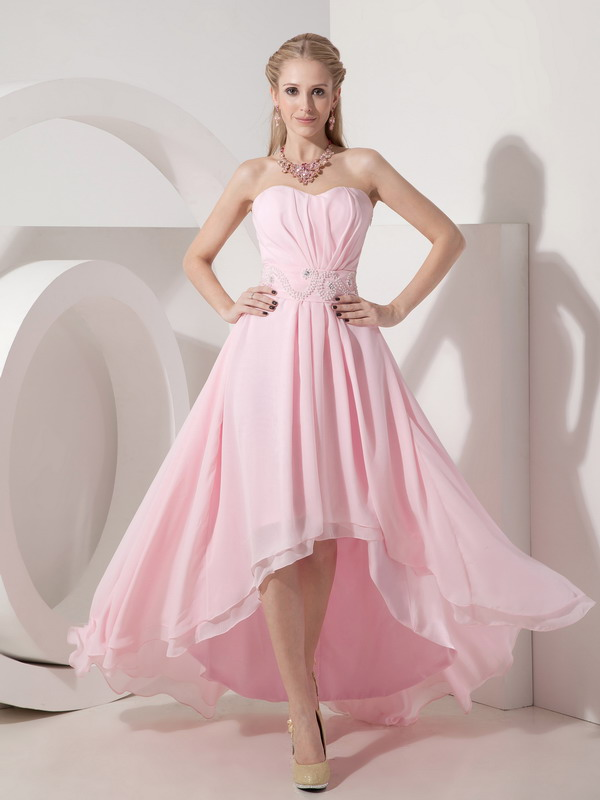 Baby Pink Prom Dresses