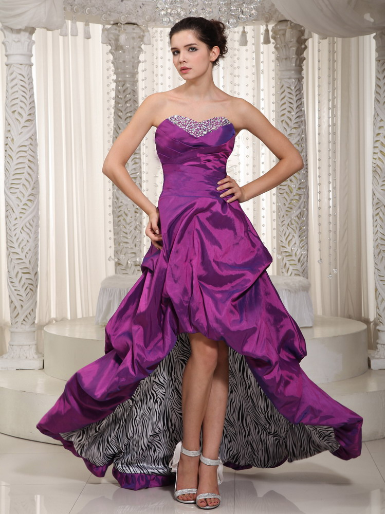 Eggplant Purple Prom Dresses