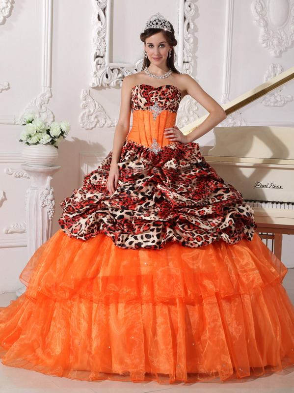 Quinceanera Dresses with Train