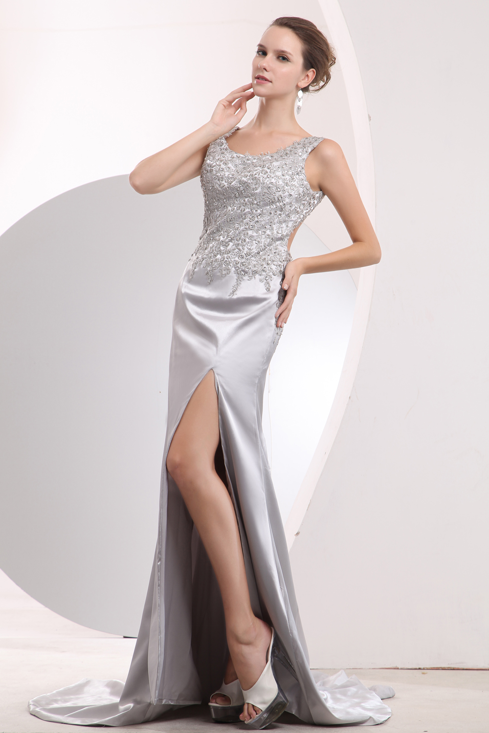 Silver Prom Dresses