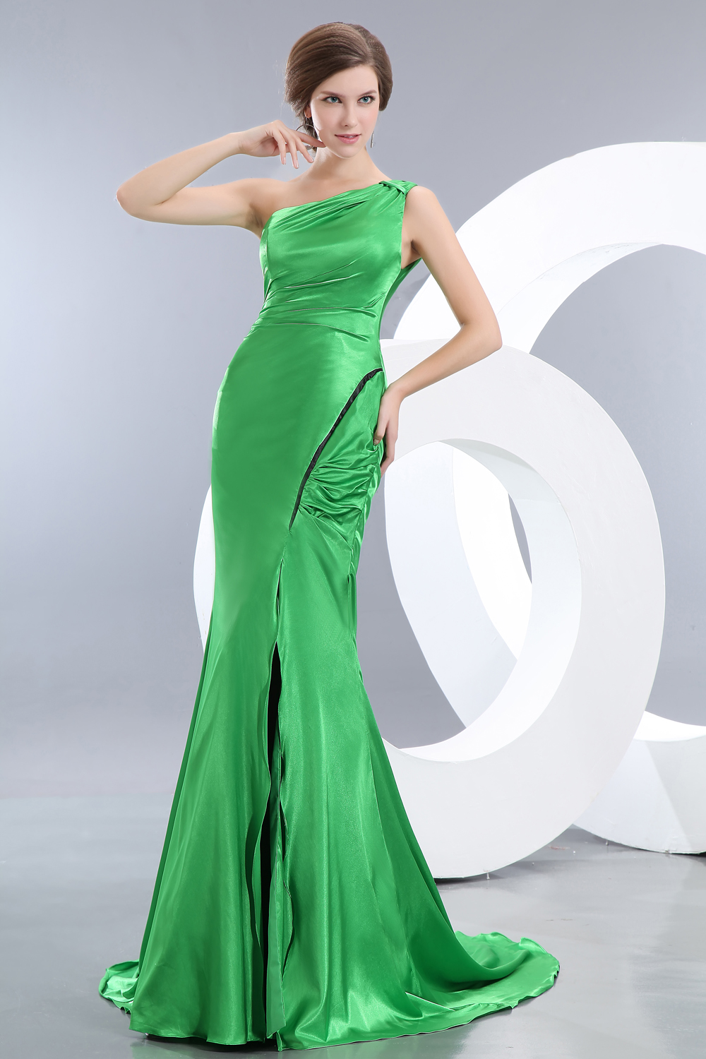 Spring Green Pageant Dresses