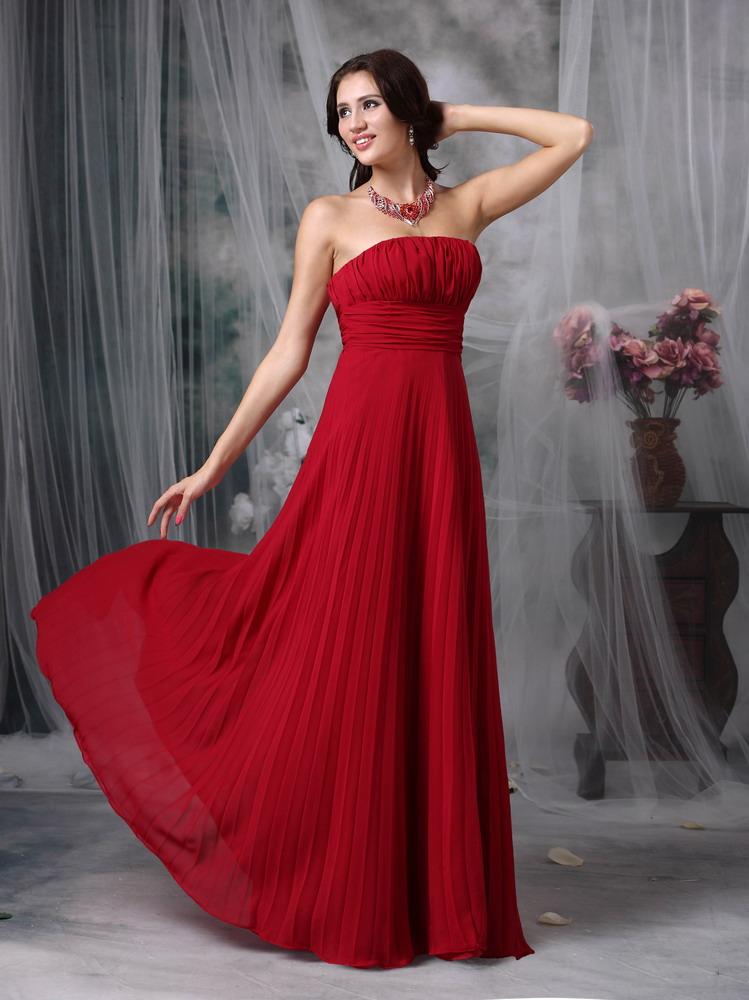 Wine Red Prom Dresses