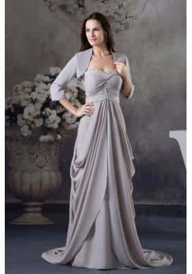 Sweetheart Beading Empire Mother Of The Bride Dress