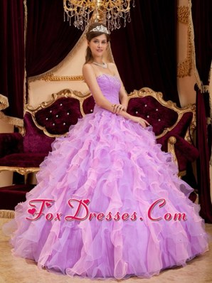 Quinceanera Dress Lavender Sweetheart 2013 Autumn Beading