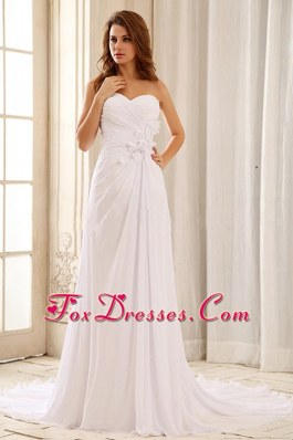 Beautiful 2013 Wedding Dress Ruched Bodice Sweetheart