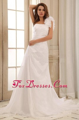 2013 Pretty Sweetehart Beaded Decorate Ruch Weding Dress