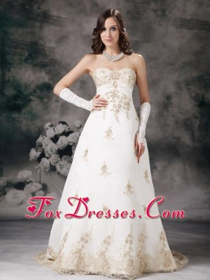 Beading Wedding Dress 2013 Affordable A-line Sweetheart Lace