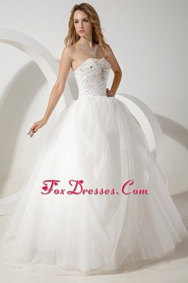 Bridal Dress 2013 Ball Gown Strapless Tulle Beading