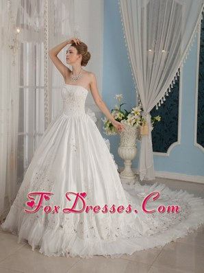 Remarkable Princess Beading 2013 Cathedral Wedding Gowns