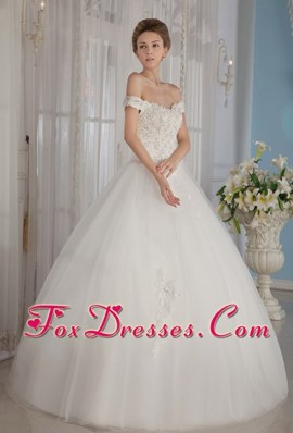 Off The Shoulder Beading Wedding Dress For 2013 New Arrival