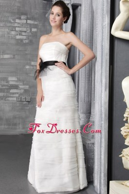 Exclusive 2013 Wedding Dress Empire Ruffle Tiered Belt