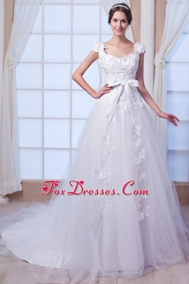 Wedding Dress 2013 New Style A-line Square Chapel Embroidery