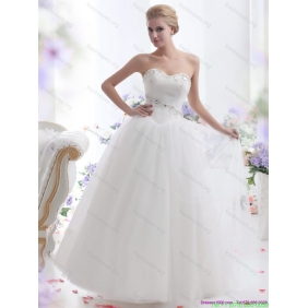 2015 New Arrival Sweetheart Wedding Dress with Paillette