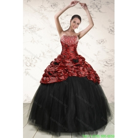 2015 Couture Ball Gown Leopard Quinceanera Dresses in Multi Color