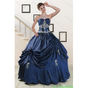 Couture Sweetheart Quinceanera Gowns with Appliques