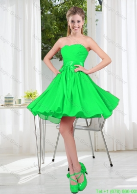 New Style A Line Sweetheart Bridesmaid Dress for 2016