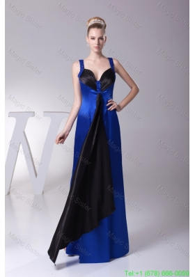 Beading Sweethr\eart Sheath Ankle-length Prom Dress in Blue