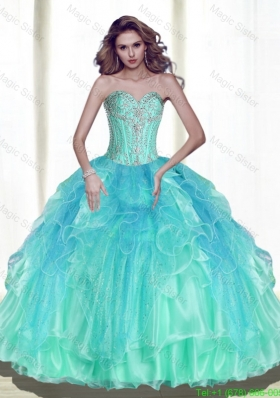Classical Ball Gown Sweetheart Quinceanera Dresses with Beading