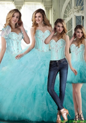 Classical Ball Gown Sweetheart Beading Sweet 16 Dresses