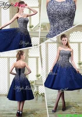 Luxurious Sweetheart Beading Prom Dresses for 2016