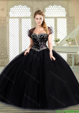 2016 Pretty Sweetheart Quinceanera Gowns with Beading