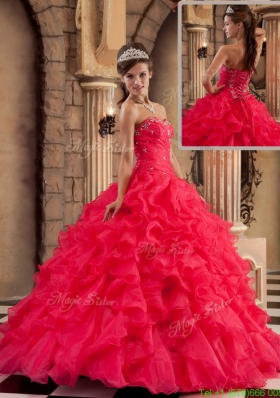 Pretty Ball Gown Sweetheart Floor Length Discount Quinceanera Dresses