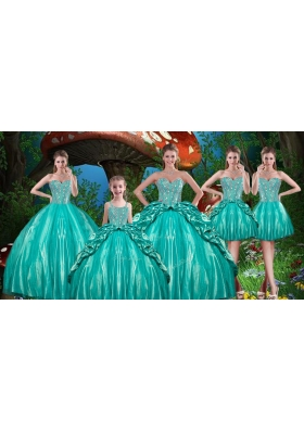 Beautiful Beading Quinceanera Dresses and Cute Straps Mini Quinceanera Dresses and Sweetheart Short Dama Dresses