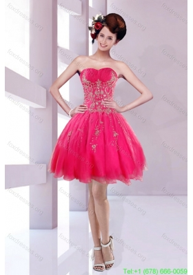 Plus Size Sweetheart Prom Dresses with Embroidery