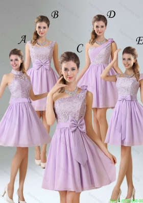 2015 Group Buying A Line Chiffon Bridesmaid Dress