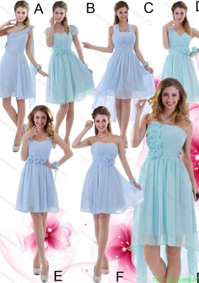 2015 Ruching Zipper Up Wonderful Bridesmaid Dress
