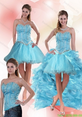 Detachable Low Prom Dresses with Ruffles and Beading