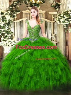 Superior Floor Length Ball Gowns Sleeveless Quince Ball Gowns Lace Up