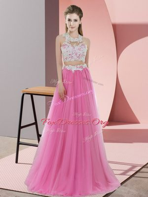 Clearance Sleeveless Lace Zipper Court Dresses for Sweet 16