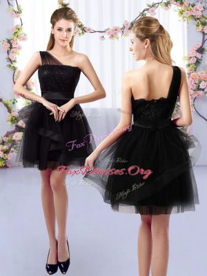 Sleeveless Lace Side Zipper Dama Dress for Quinceanera