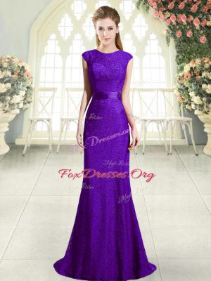 New Arrival Sleeveless Sweep Train Beading Backless Dress for Prom