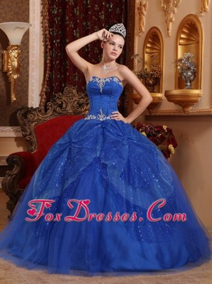 Trendy Sweetheart Beading Applique sixteen dresses