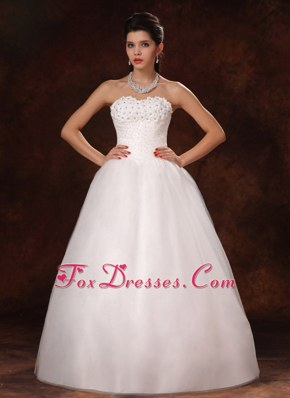 Beaded Organza New Style Wedding Bridal Gowns For Customize