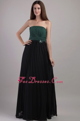 Two-toned Handmade Strapless Bridesmaid Dresses 2013