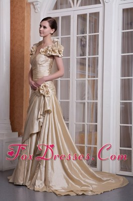 Champagne Sweetheart Celebrity Pageant Dresses