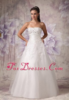 Beading Wedding Dress Classic Tulle Bridal Gowns 2013
