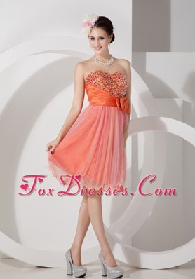 Sweetheart Organza Ruching Beading Cocktail Holiday Dresses
