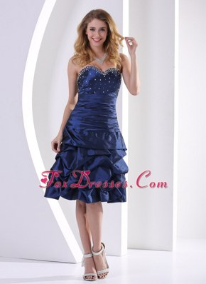 Sweetheart Beading Pick-ups 2013 Cocktail Graduation Dresses
