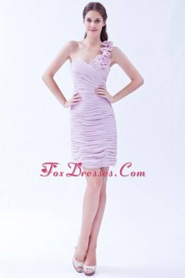 Short Prom Dresses Lavender One Shoulder