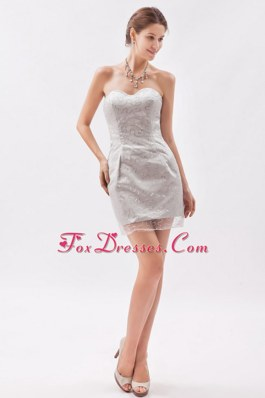 2013 Cheap Prom Dresses Column Mini-length Sweetheart