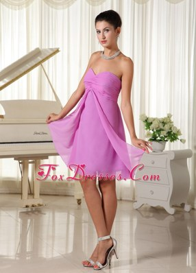 Lavender Sweetheart Dama Dresses Ruched Bodice 2013