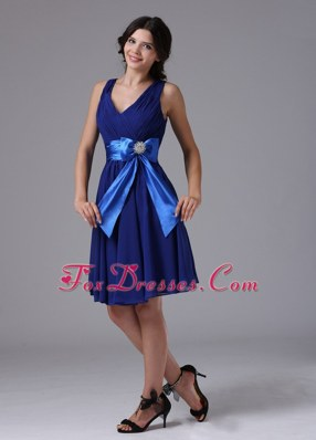 Peacock Blue 2013 Dama Dresses for Quinceanera