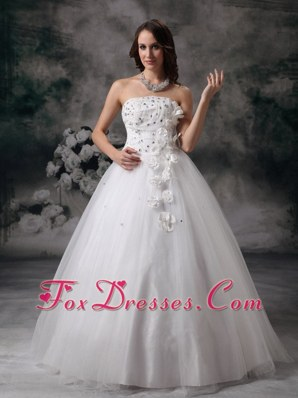 Beading Wedding Dress 2013 Tulle Plus Size Bridal Gowns