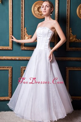 Modest Lace Bridal Wedding Dress Strapless 2013 Plus Size