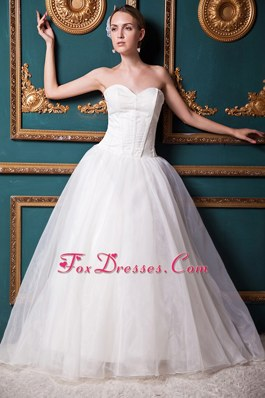 2013 Exquisite Sweetheart Brush Train Wedding Bridal Gowns