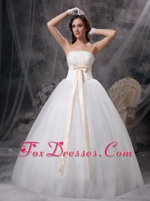 Colorful Bows 2013 Elegant Birdal Gown Wedding Dress